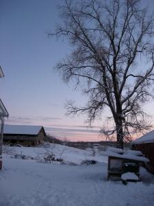 solstice sunset 2012