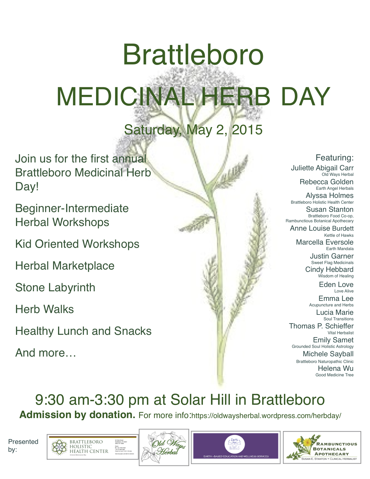 Brattleboro Herb Day